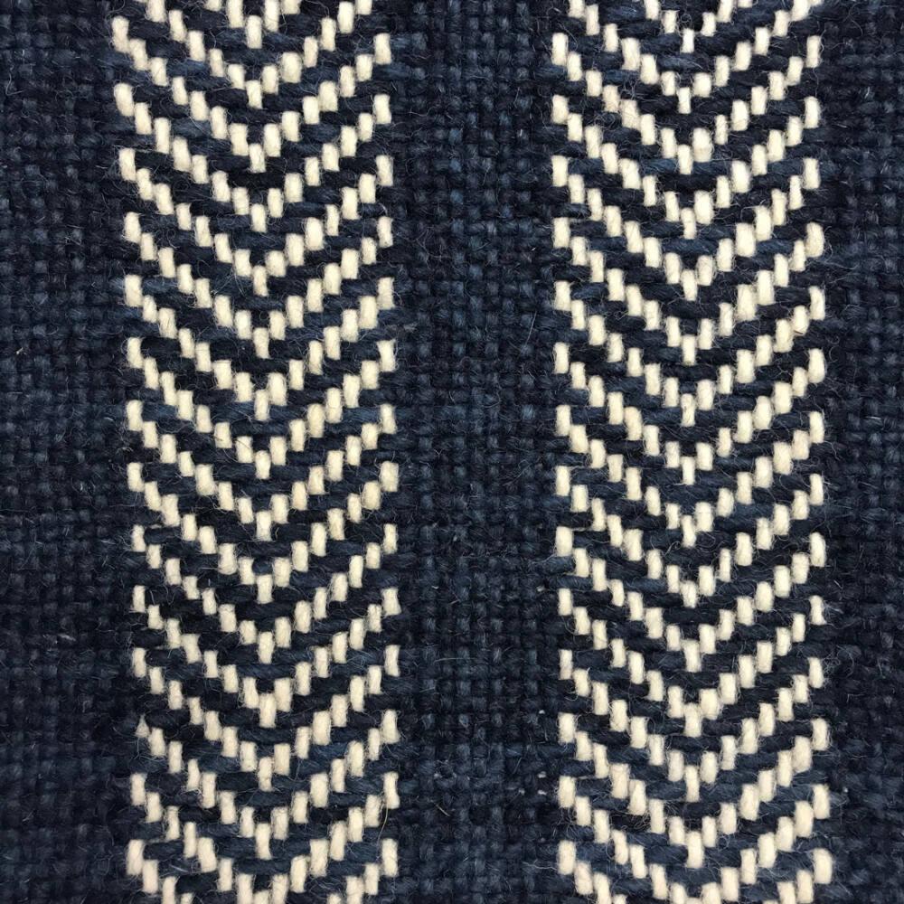 Midori, Chevron, 01-BL-MIDO-CH01 White-Blue