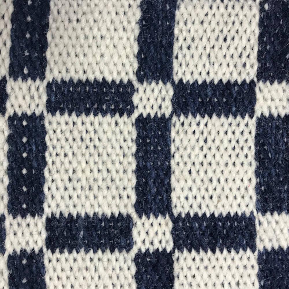 Naoko, Grid, 01-BL-NAOK-GR01 White-Blue