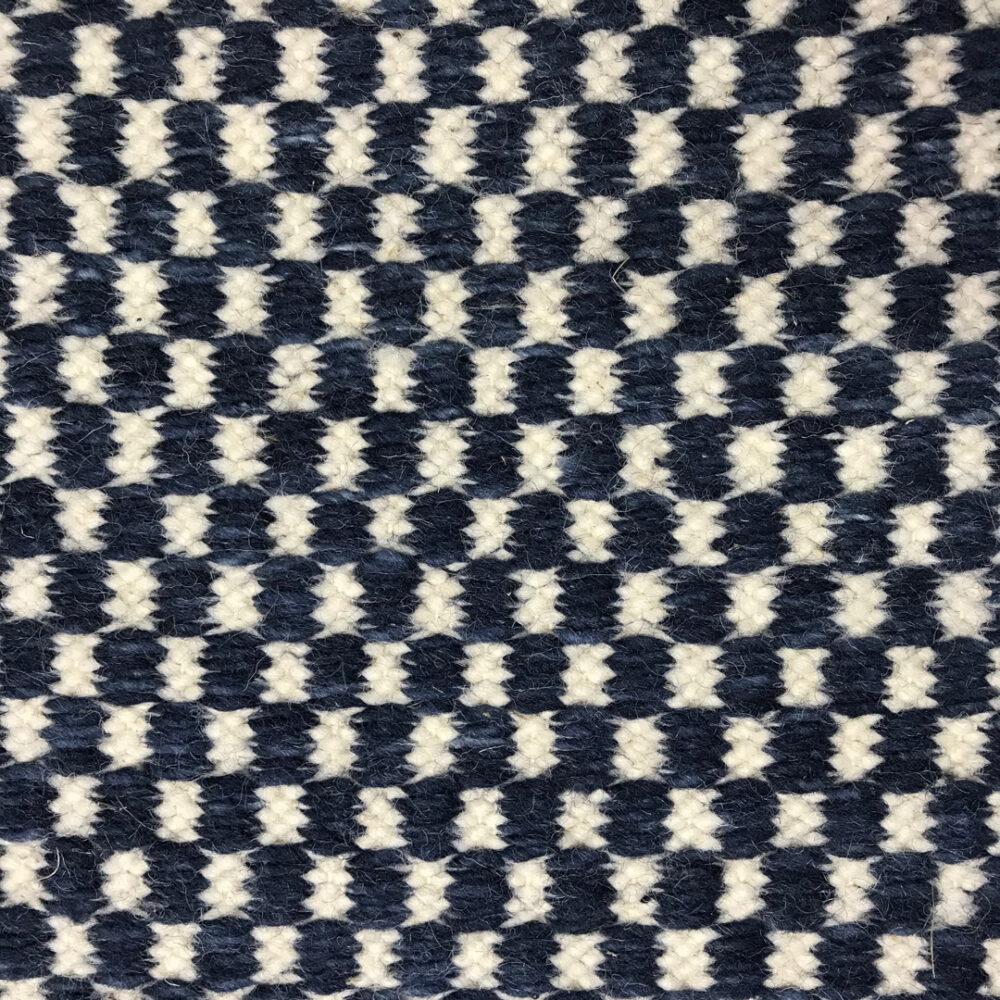 Nobu, Check, 01-BL-NOBU-CH01 White-Blue