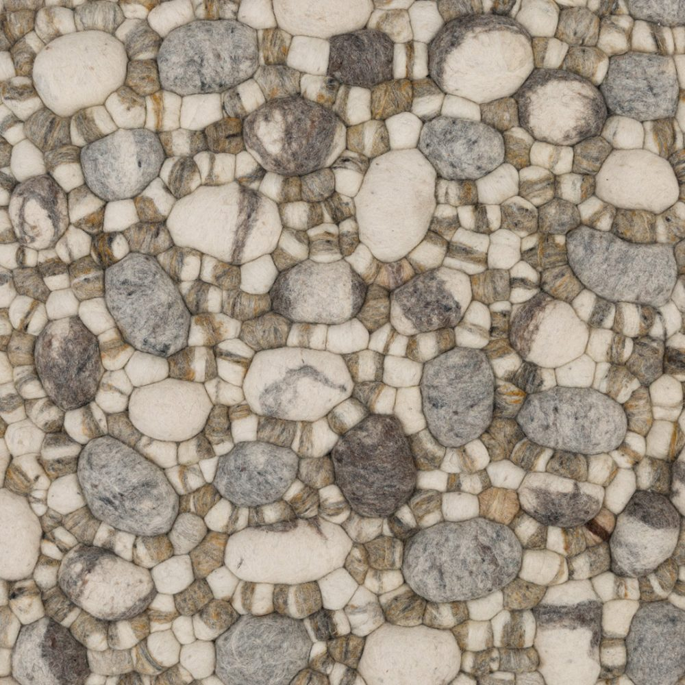 Pebble, Mix, 02-BL-PEBB-MI02 Grey-White-Brown