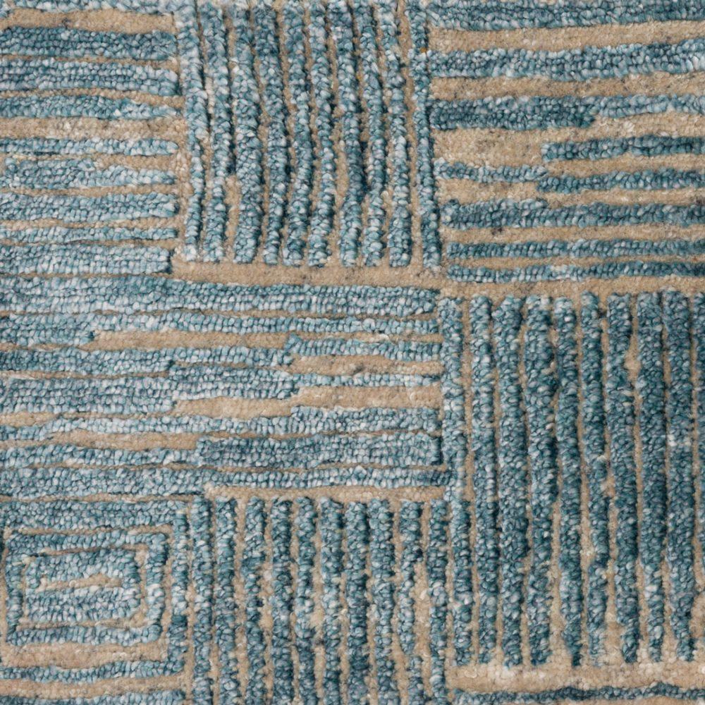 Frida-Grid-01-BL-FRID-GR01-Silver-Blue-Flock-Living